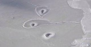 Un extraño fenómeno en el Ártico, cuya causa se desconoce