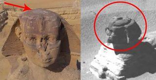 Existe un agujero en la cabeza de la Gran Esfinge y está ahora cubierto